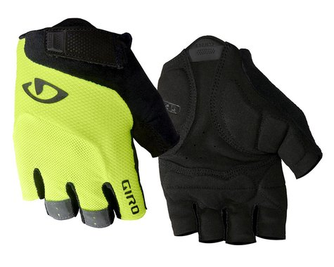 Giro Bravo Gel Gloves (Yellow/Black) (2XL)
