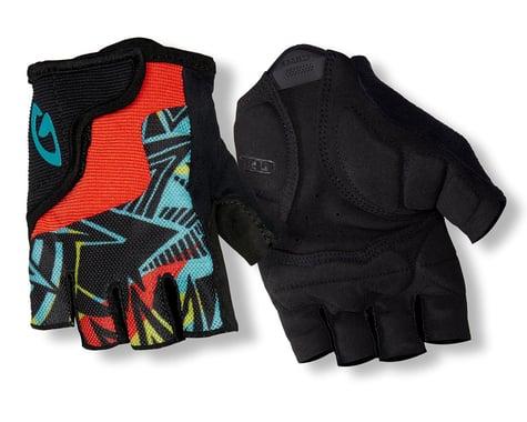 Giro Bravo Jr Gloves (Retro Blue/Red/Black) (Youth XS)