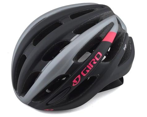 Giro Saga Women's Road Helmet (Matte Black/Pink)