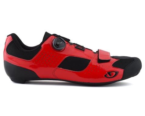 Giro Trans Boa Road Shoes (Bright Red/Black) (39)
