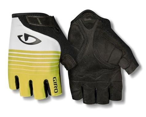 Giro Jag Short Finger Gloves (Green/Grey)