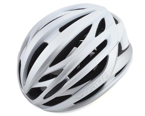 Giro Syntax MIPS Road Helmet (Matte White/Silver) (M)
