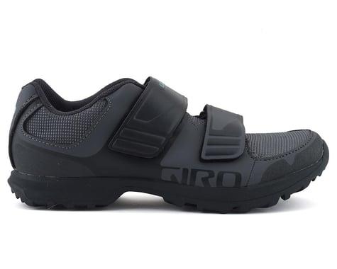 Giro Berm Women's Mountain Bike Shoe (Titanium/Dark Shadow) (37)