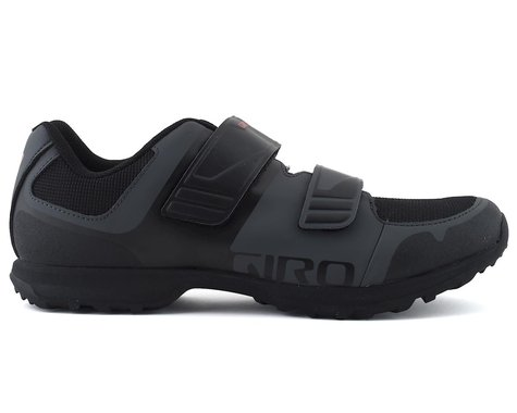 Giro Berm Mountain Bike Shoe (Dark Shadow/Black) (44)