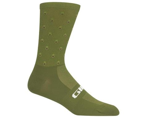 Giro Comp Racer High Rise Socks (Avocado) (S)