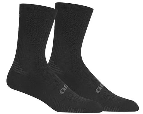 Giro HRc+ Grip Socks (Black/Charcoal) (S)