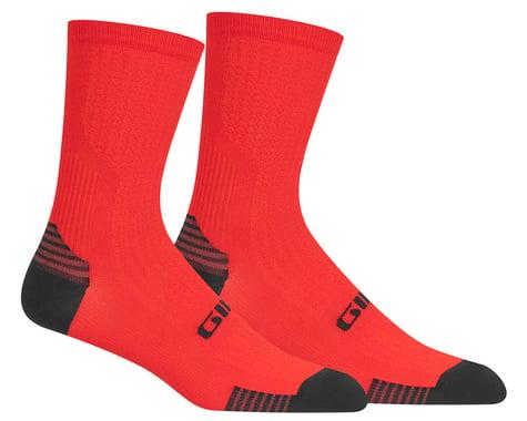 Giro HRc+ Grip Socks (Red) (S)