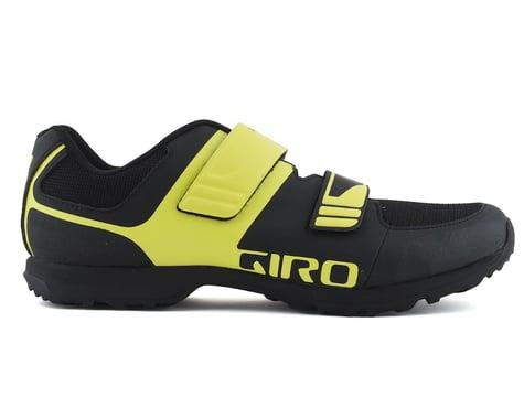 Giro Berm Mountain Bike Shoe (Black/Citron Green) (50)