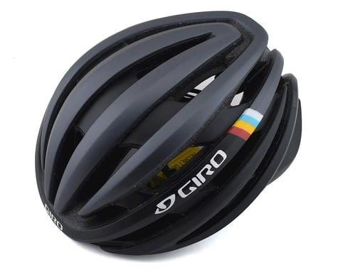 Giro Cinder Road Helmet w/ MIPS (Matte Gunmetal Classic Stripe)