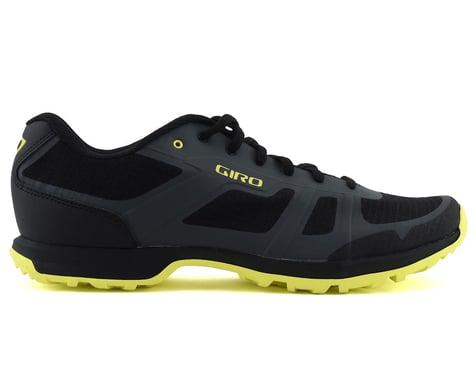 Giro Gauge Mountain Bike Shoes (Dark Shadow/Citrine Green) (48)