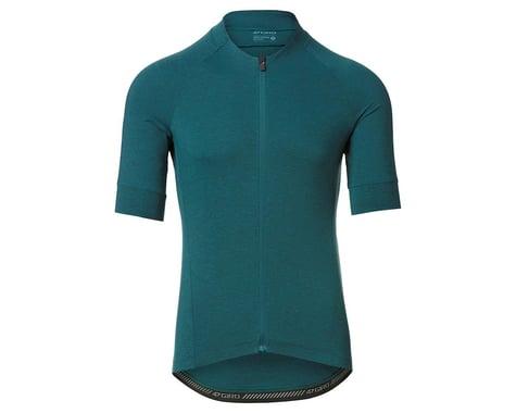 Giro Men's New Road Short Sleeve Jersey (True Spruce Heather) (M)
