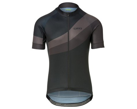 Giro Men's Chrono Sport Short Sleeve Jersey (Black Render) (XL)
