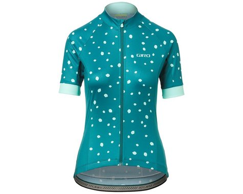Giro Women's Chrono Sport Short Sleeve Jersey (True Spruce Blossom) (XS)