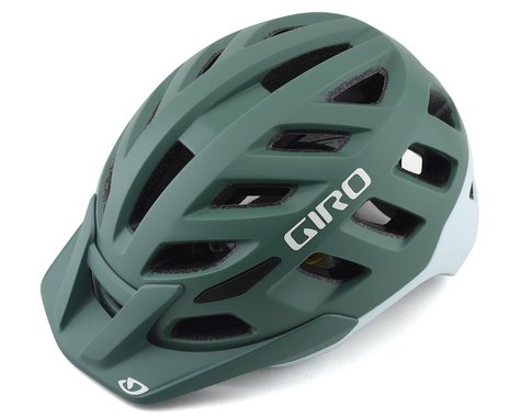 Giro Radix Women's Mountain Helmet w/ MIPS (Matte Grey/Green) (M)