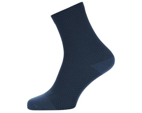 Gore Wear C3 Dot Mid Socks (Orbit Blue/Deep Water Blue) (S)