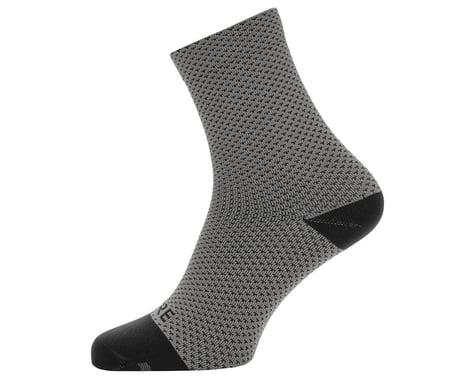 Gore Wear C3 Dot Mid Socks (Graphite Grey/Black) (M)