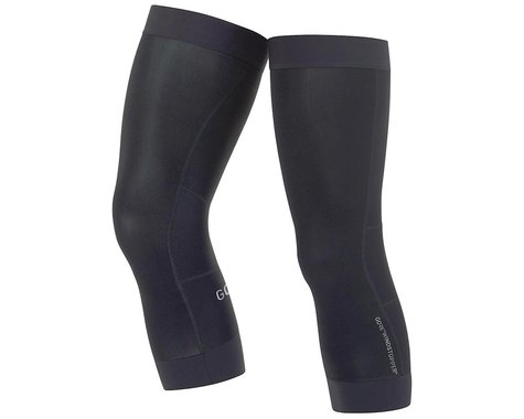 Gore Wear C3 Windstopper Knee Warmers (Black) (L)