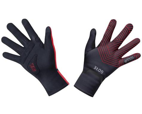 Gore Wear C3 Gore-Tex Infinium Stretch Mid Gloves (Black/Red) (S)