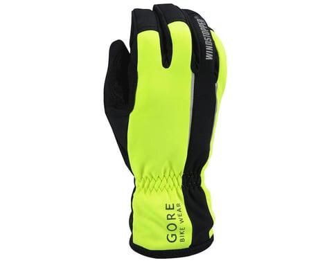 Gore Wear Power Windstopper Soft Shell Gloves (Black)
