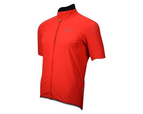 Gore Wear Power Windstopper Soft Shell Short Sleeve Jersey (Blue)