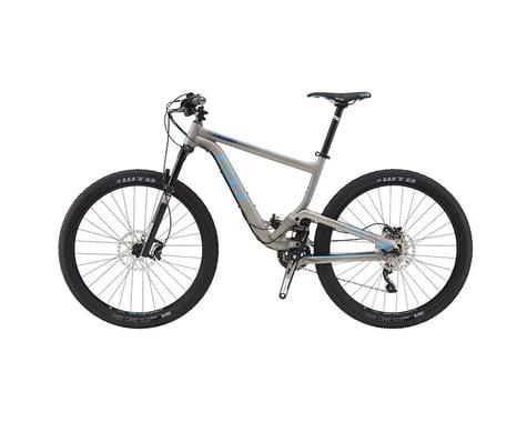 GT Helion Expert Full Suspension XC Mountain Bike - 2016 (Raw Metal) (Xsmall)