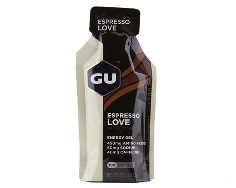 GU Energy Gel (Espresso Love) (1   1.1oz Packet)