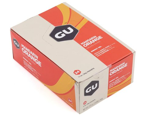 GU Energy Gel (Mandarin Orange) (24 | 1.1oz Packets)