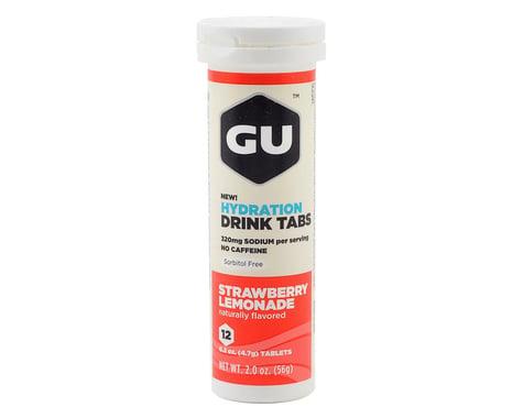 GU Hydration Drink Tablets (Strawberry Lemonade) (8 Tubes)