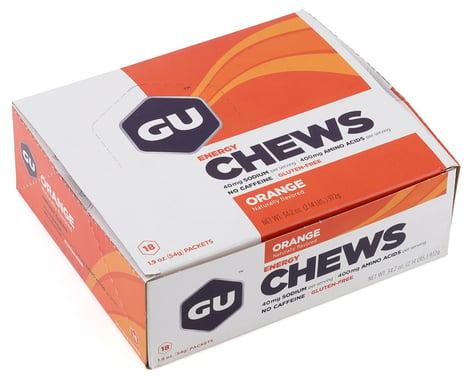 GU Energy Chews (Orange) (18 | 1.9oz Packets)