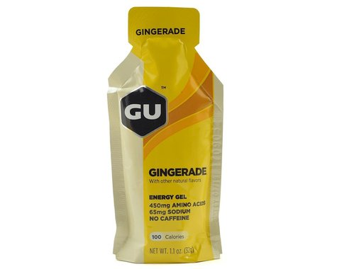 GU Energy Gel (Gingerade) (1   1.1oz Packet)