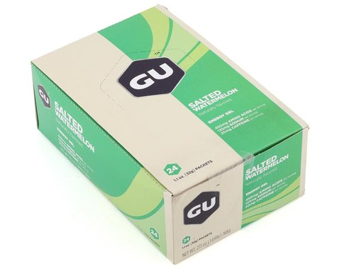 GU Energy Gel (Salted Watermelon) (24 | 1.1oz Packets)