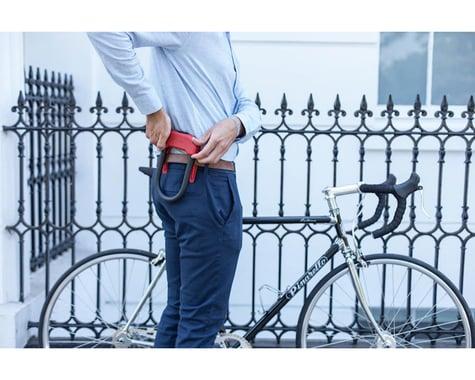 Hiplok DX Wearable Hardened Steel Shackle U-Lock (Orange) (14mm)