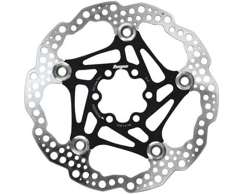 Hope Floating Disc Brake Rotor (Black) (6-Bolt) (1) (160mm)