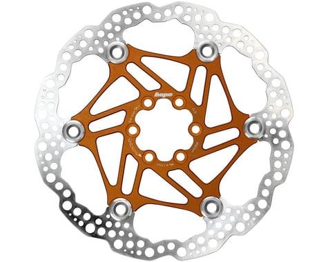 Hope Floating Disc Brake Rotor (Orange) (6-Bolt) (1) (180mm)