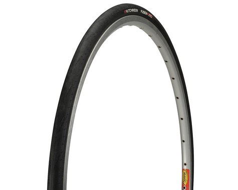 Hutchinson Fusion 5 Galactik Tubeless Road Tire (Black) (700C X 23)