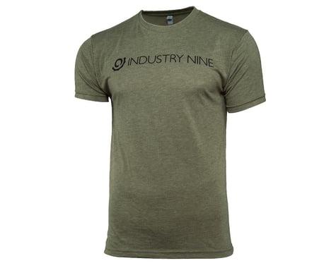 Industry Nine Men's Logo T-Shirt 2018 (Green) (XL)