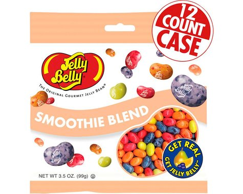 Jelly Belly Jelly Beans (Smoothie Blend) (12   3.5oz Packets)