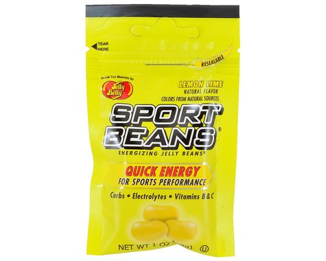 Jelly Belly Sport Beans (Lemon Lime) (24   1.0oz Packets)