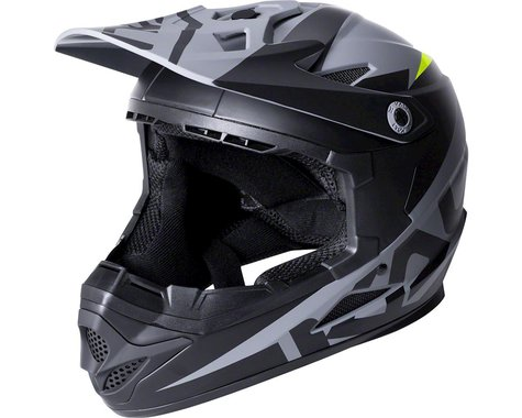 Kali Zoka Youth Helmet (Dual Solid Matte Black/Lime)