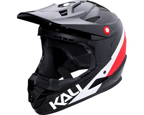 Kali Zoka Helmet (Gloss Red/White/Blue)