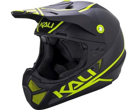 Kali Shiva 2.0 Helmet (Dual Matte Black/Lime) (S)