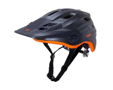 Kali Maya Helmet (Matte Gunmetal/Orange)