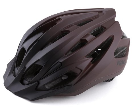 Kali Alchemy Mountain Bike Helmet (Matte Black/Burgundy) (S/M)