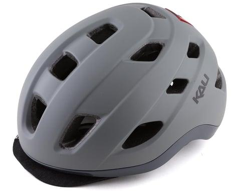 Kali Traffic Helmet w/ Integrated Light (Matte Titanium) (L/XL)
