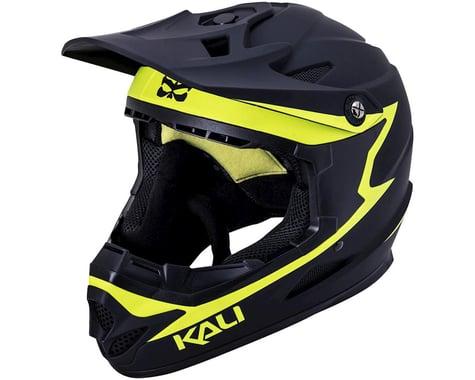 Kali Zoka Helmet (Matte Black/Flouro Yellow)