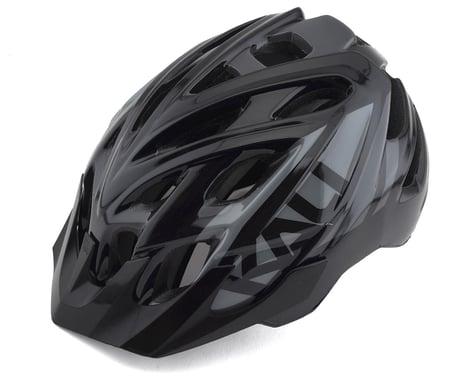 Kali Chakra Youth Snap Helmet (Gloss Black/Gray)