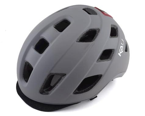 Kali Traffic Helmet w/ Integrated Light (Solid Matte Grey) (L/XL)