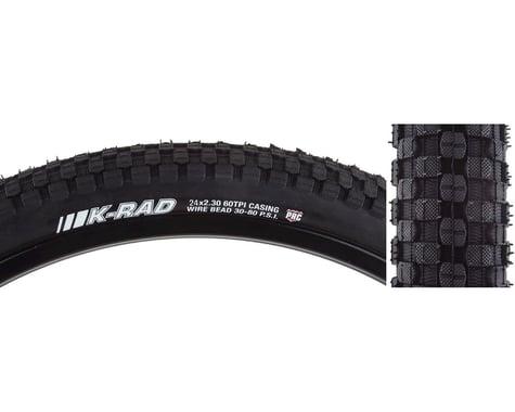 """Kenda K-Rad Sport Tire (Black) (24"""") (2.3"""")"""