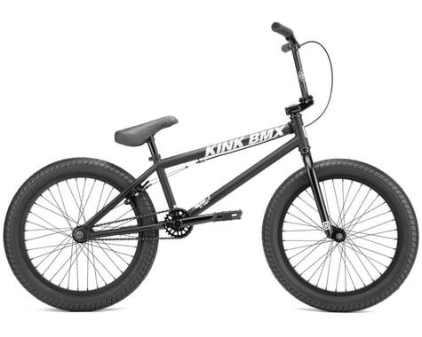 "Kink 2022 Curb BMX Bike (20"" Toptube) (Matte Midnight Black)"