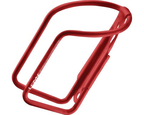Lezyne Power Water Bottle Cage (Gloss Red) (Aluminum)